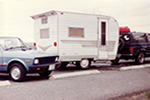 Travel caravan to AK 1991